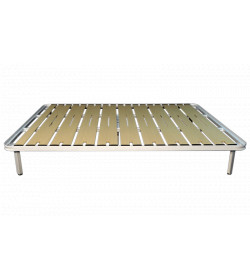 BED FRAME FLAT WITH LEGS