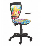 Office Chair Flower Girl